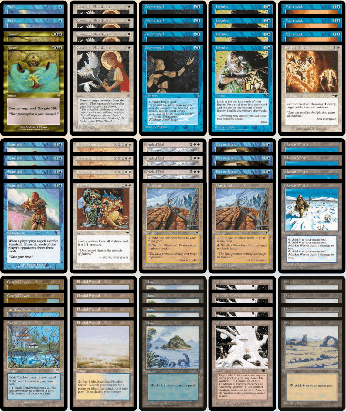 Premodern European Champion Deck